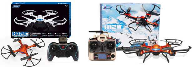 JJRC H12C H12W RC Quadcopter
