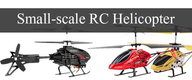 Small-scale RC Hubschrauber