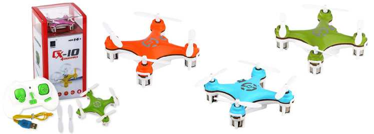 CX-10 UFO RC Quadcopter