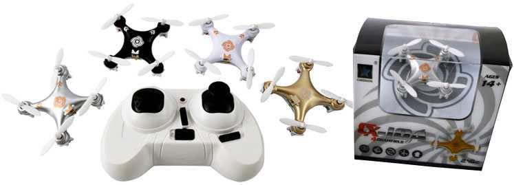 CX-10A UFO RC Quadcopter