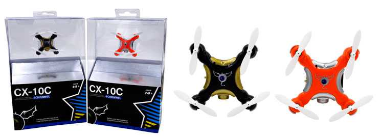 CX-10C UFO RC Quadcopter