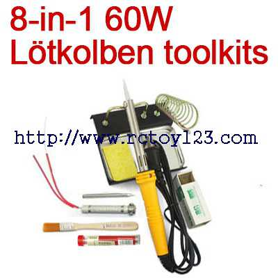8-in-1 60W Lötkolben toolkits
