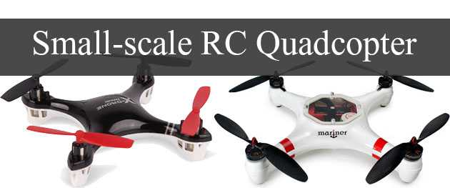 Small-scale RC Quadcopter