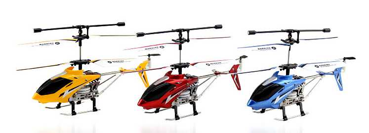 UDI RC U807 Metal Series 3.5ch mini helicopter